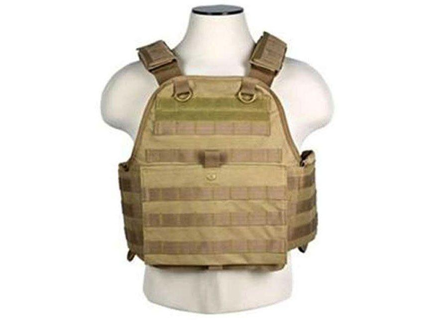 Ncstar Digital Tan Plate Carrier Vest