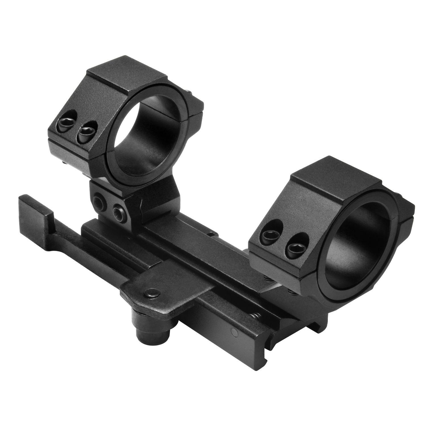 Ncstar AR-15 Quick Release Weaver Mount Cantilever Scope