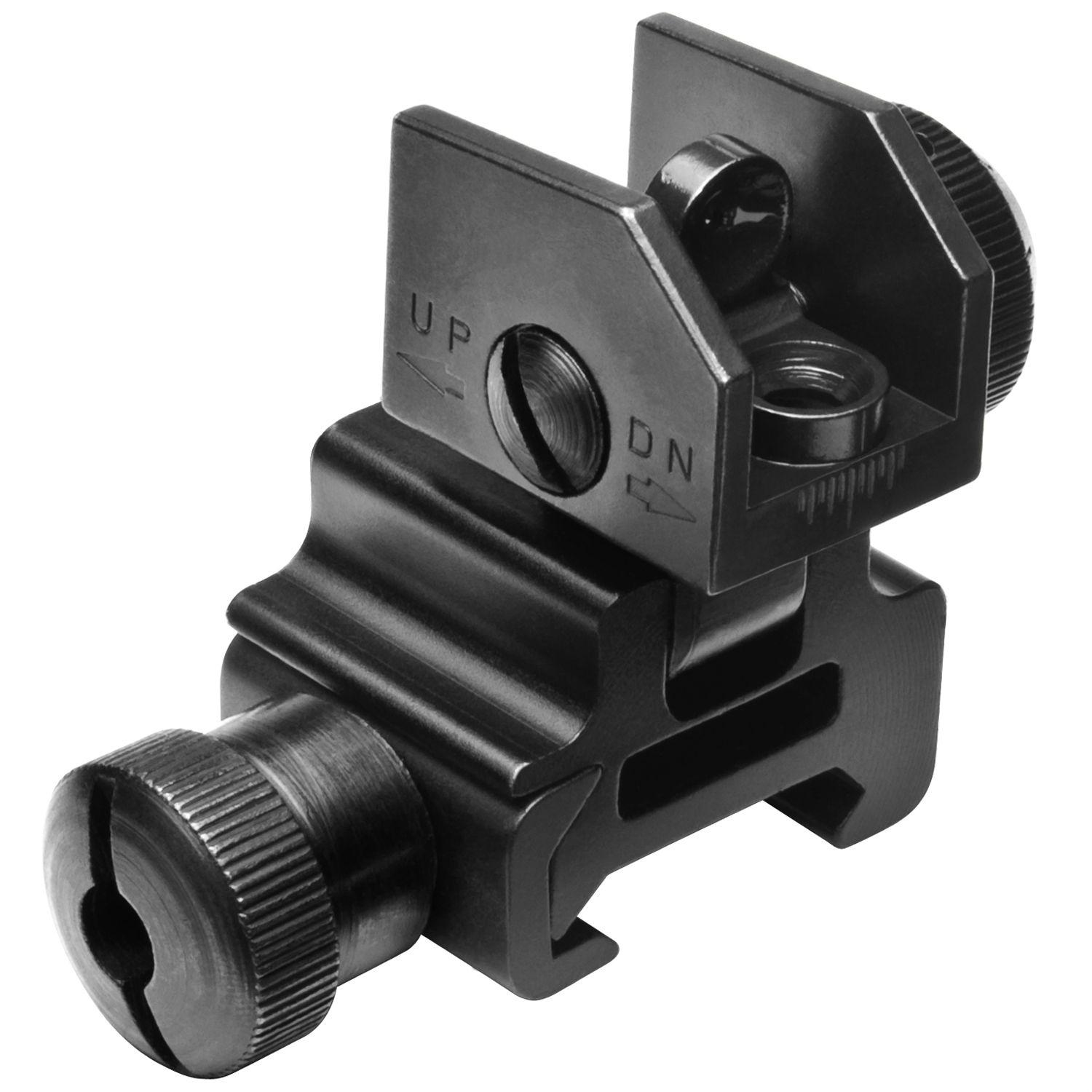 Ncstar AR-15 Style Metal Flip-Up Rear Sight