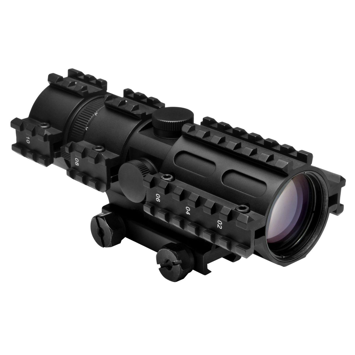Ncstar Tri-Rail Series 3-9X42 Compact Rifle Scope