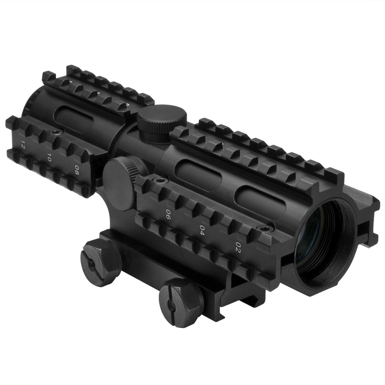 Ncstar Tri-Rail Series 4X32 Rangefinder Rifle Scope