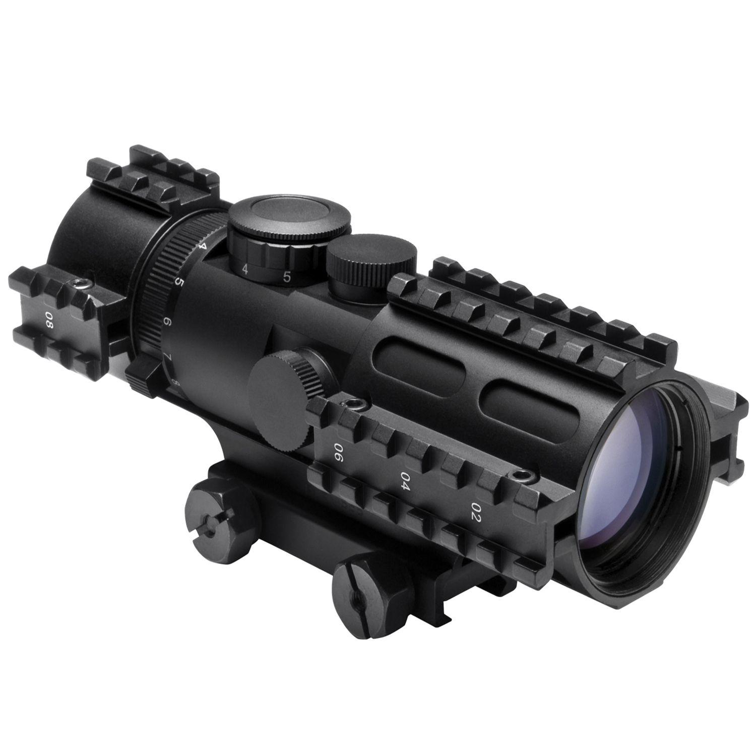 Ncstar Tri-Rail Series 3-9X42 P4 Sniper Scope