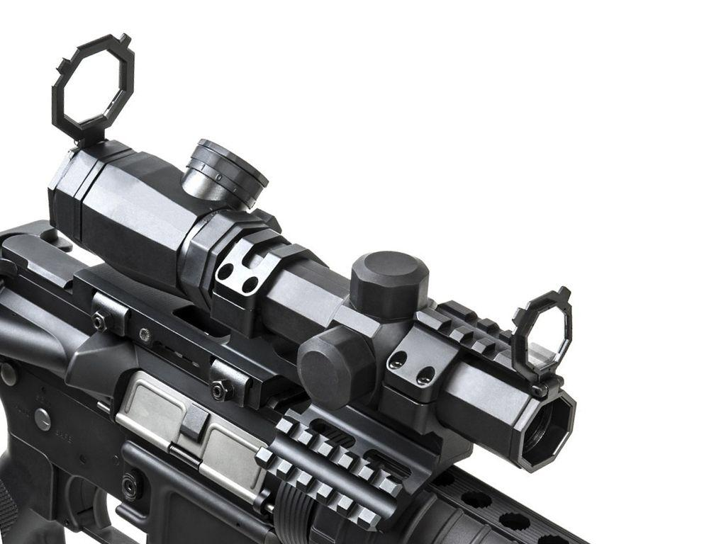 NcStar 1.1-4x20 Rubber Armored Sporting Scope