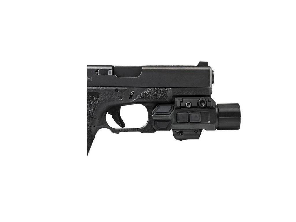 NcStar  Gen3 Pistol Flashlight W/Strobe & Red Laser