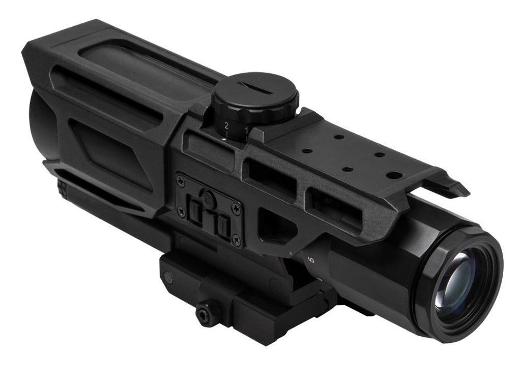 NcSTAR VISM GEN3 Mark III P4 Sniper 3-9x40 Scope