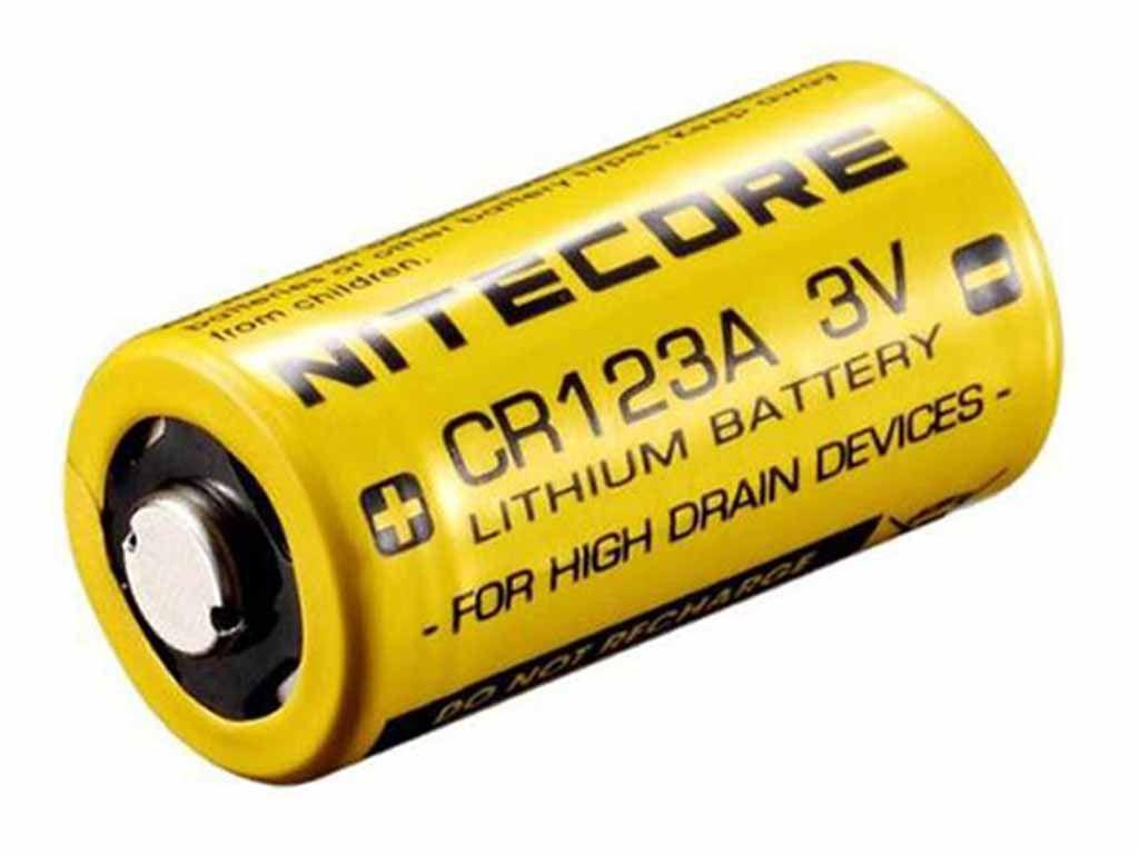 Nitecore CR123A Battery