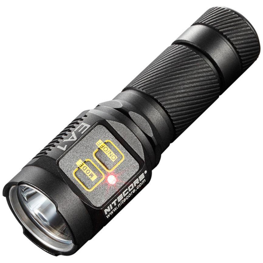 Nitecore EA1 LED Black Flashlight