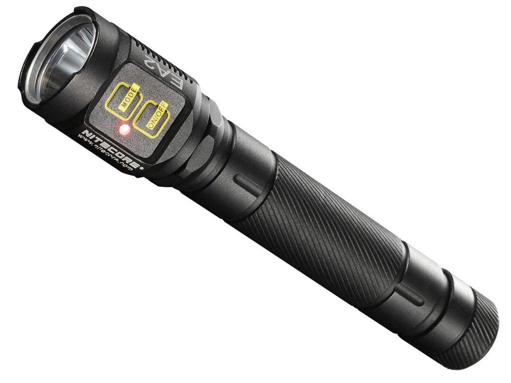Nitecore LED Black Flashlight
