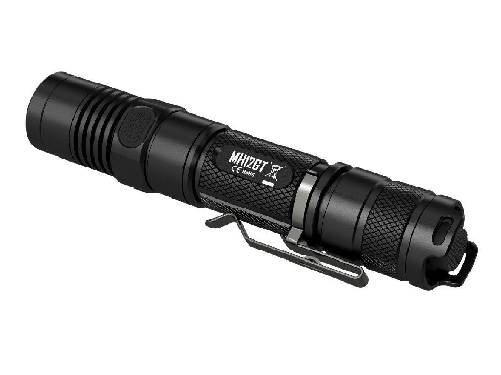 Nitecore MH12GT 1000 Lumens Tactical LED Flashlight