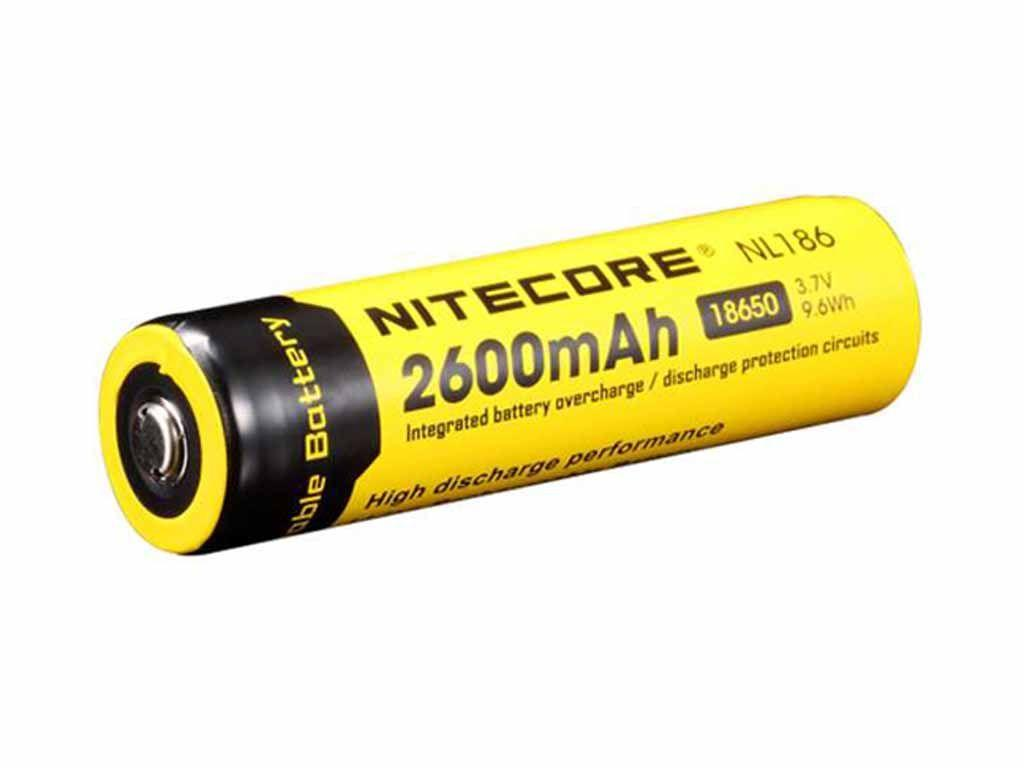 Buy Cheap Nitecore 2600mah 37v 96wh Li Ion Rechargeable Battery Protection Circuit Images Of 18650 Nl186