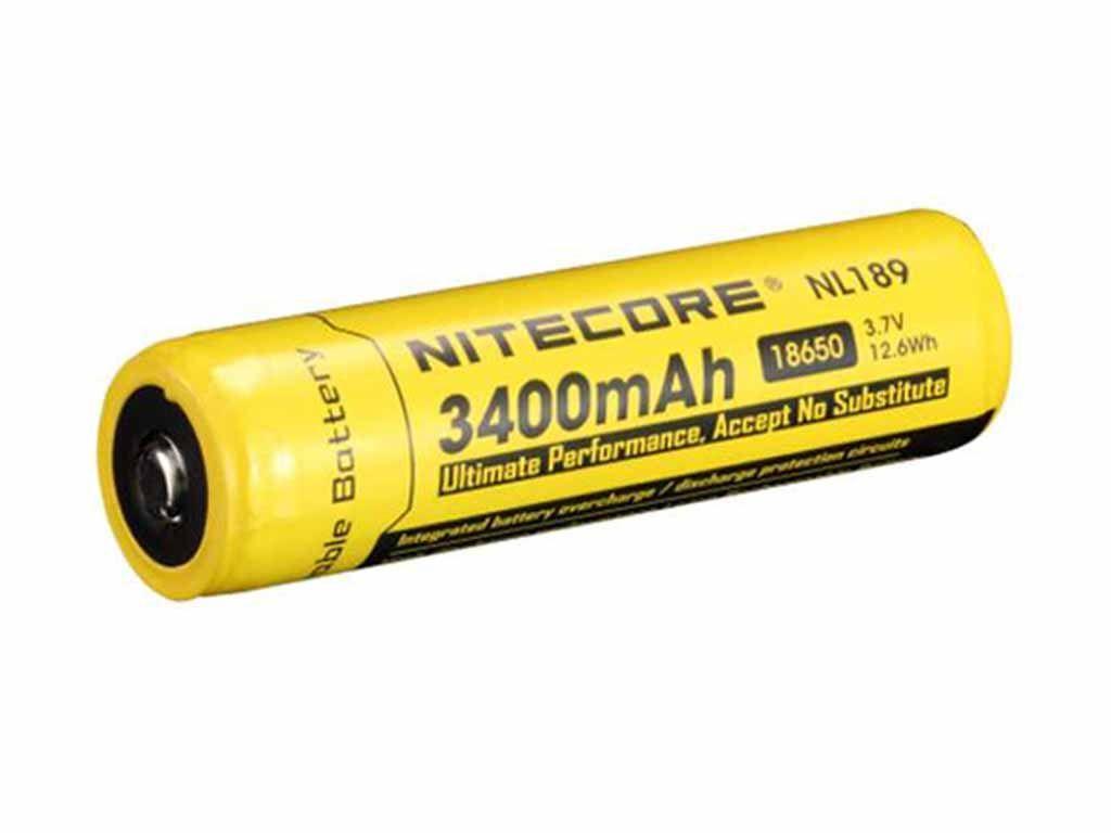 Nitecore NL189 18650 Li-Ion Battery