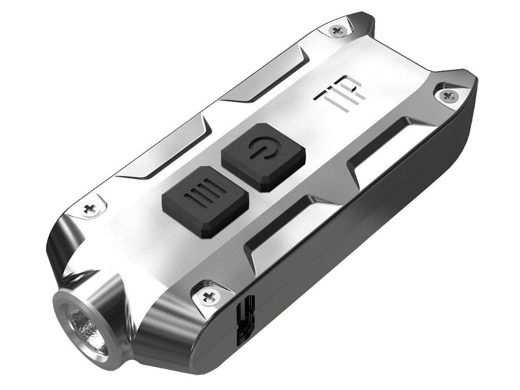Nitecore TIP-SS Full Metal Rechargeable LED Keychain Flashlight