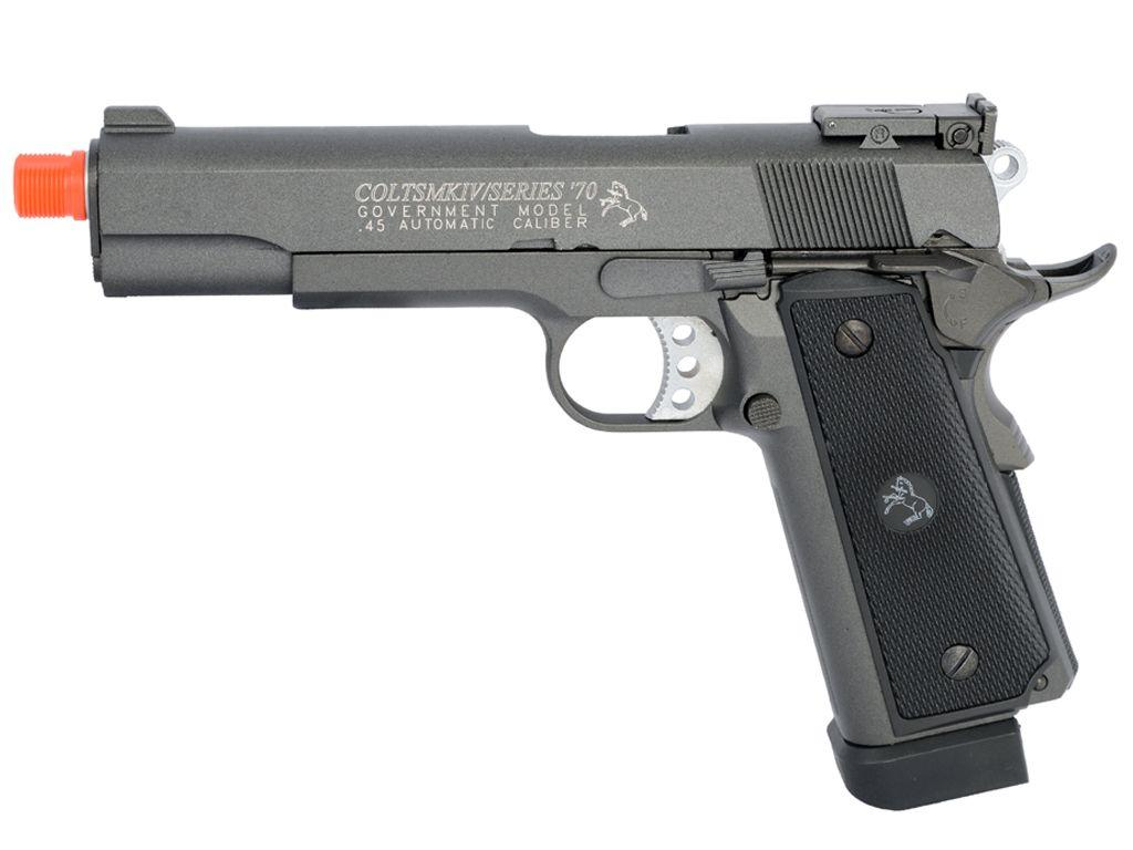 Colt 1911 MKIV Blowback CO2 Airsoft Pistol