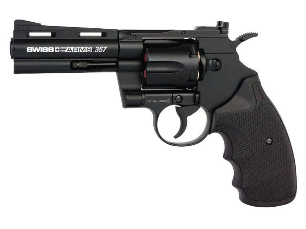 Swiss Arms 357 Magnum 4 Inch BB Revolver