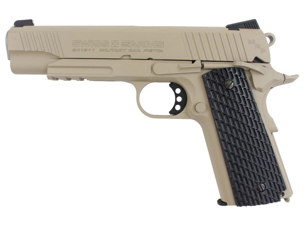 Swiss Arms SA1911 MRP CO2 Blowback Steel BB Pistol