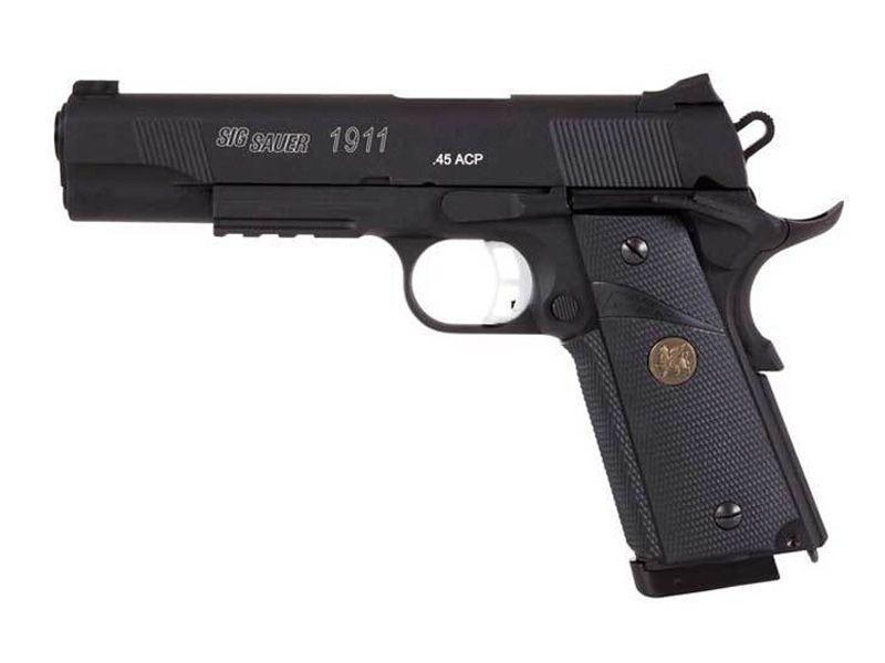 Sig Sauer 1911 CO2 Blowback Steel BB gun