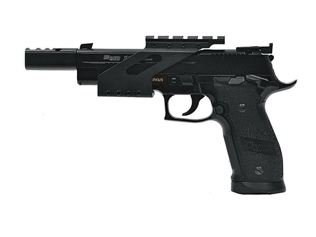 Cybergun Sig Sauer P226 X-Five CO2 Blowback Steel BB Pistol