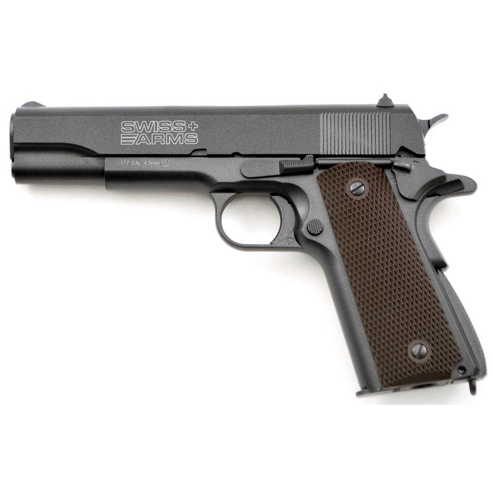 Swiss Arms 1911 .177 Caliber CO2 BB Pistol