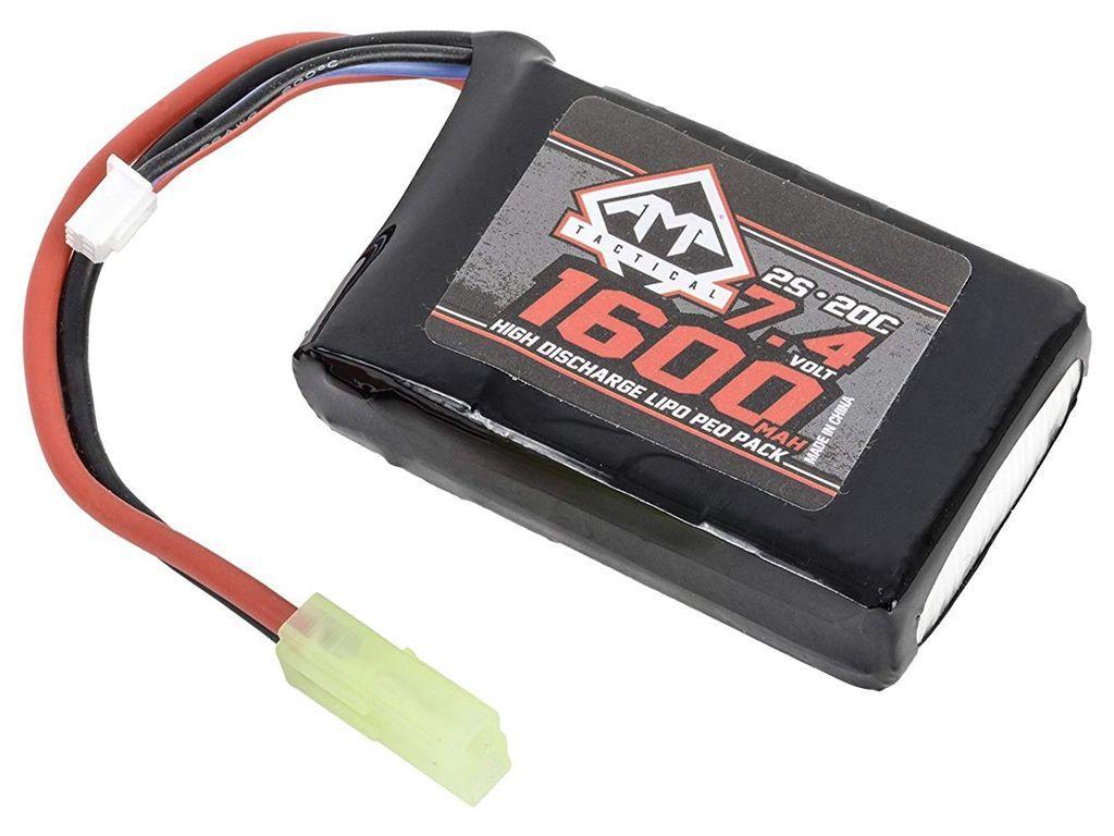 7 4v 1600mah 20c lipo aeg peq battery replicaairguns ca