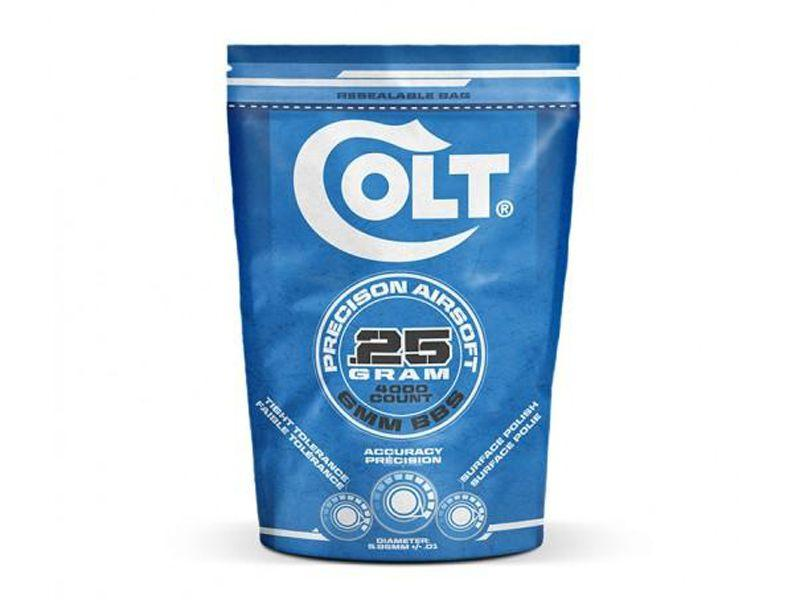 Colt .25g 4000ct White Airsoft BBs Bag