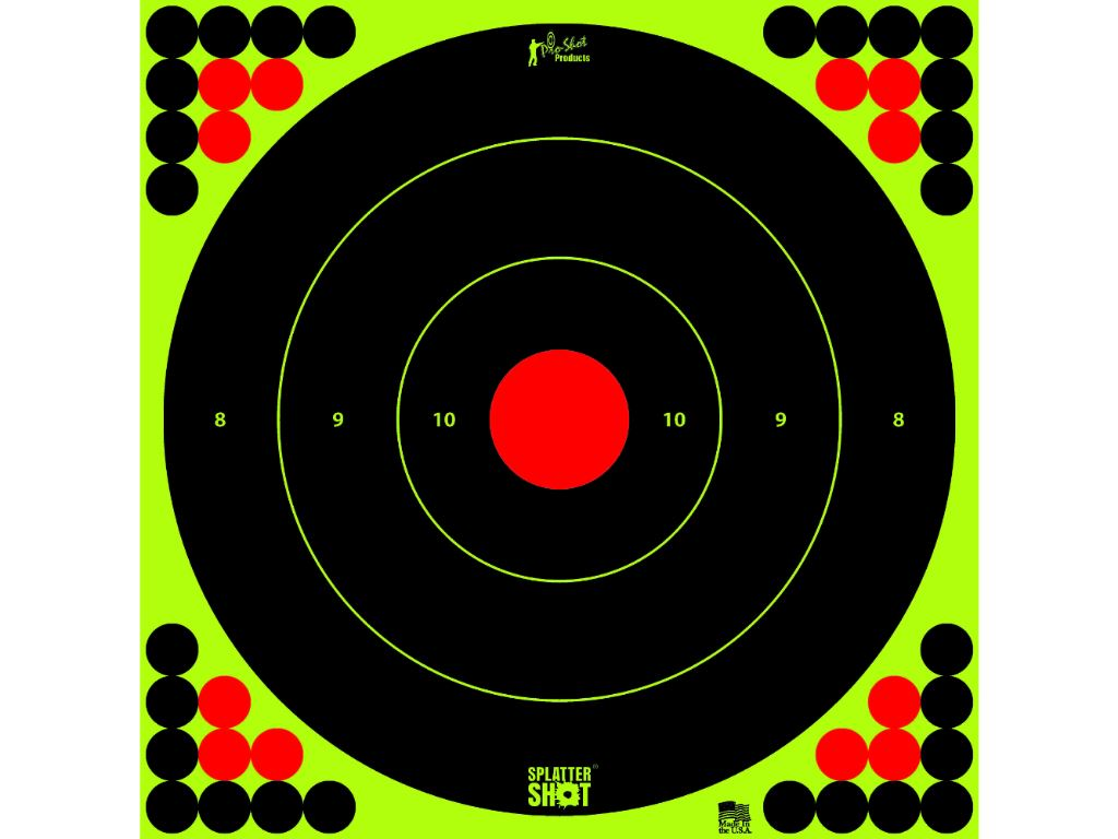 17.25 Inch Bullseye Target Paper