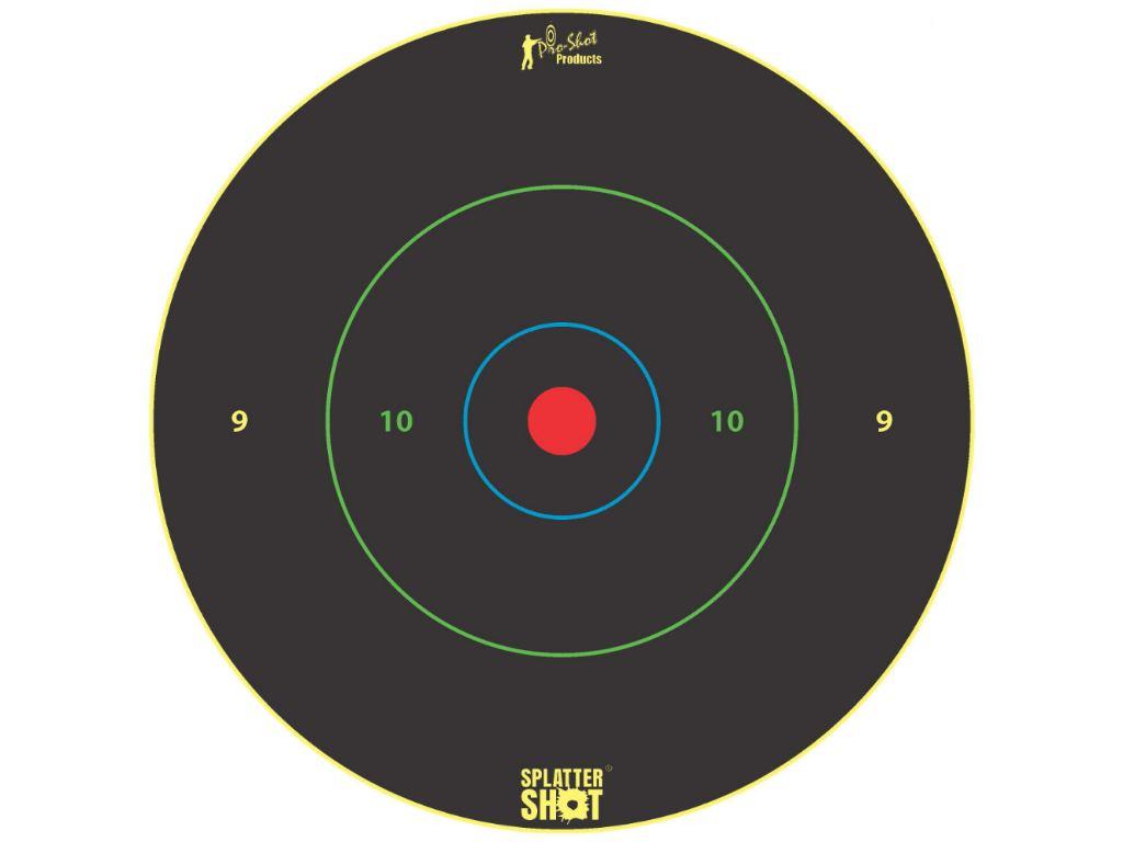 12 Inch Bullseye Rings - Multi Color