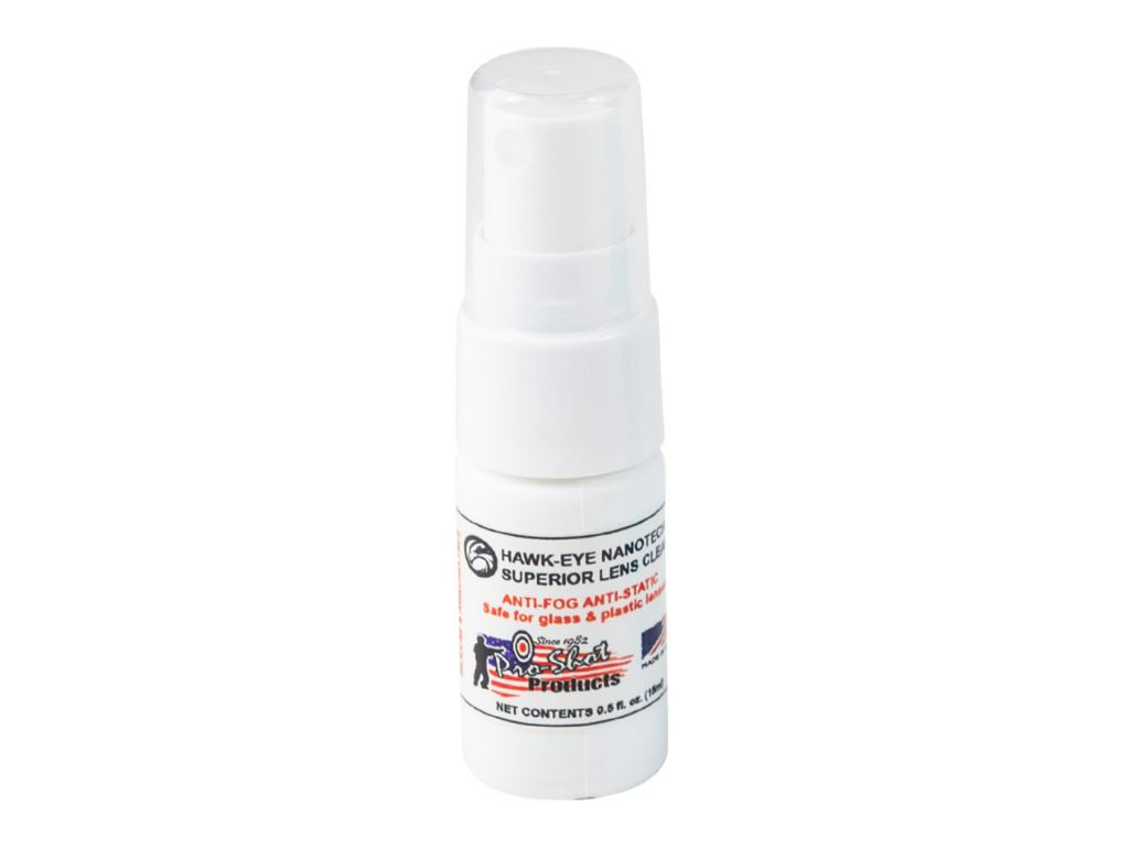 Nanotech Lens Cleaner 0.5 fl. oz. Spray Hawk-Eye
