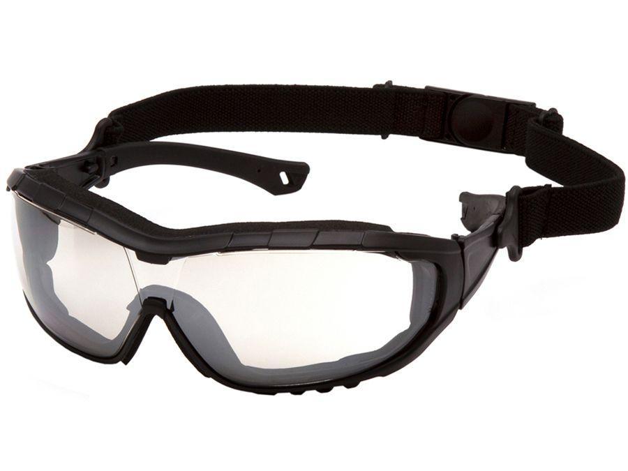 V3T Indoor/Outdoor Mirror Anti-Fog Lens with Black Frame