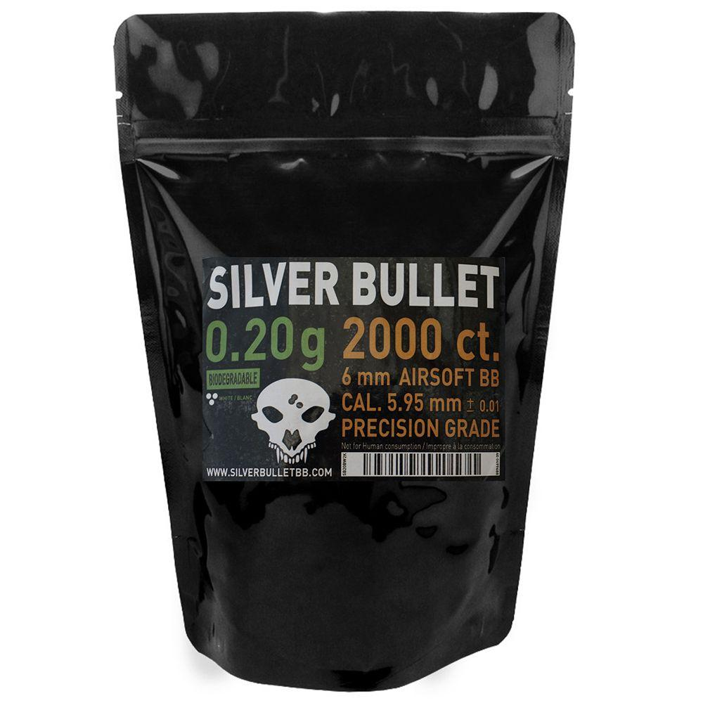 Silver Bullet Biodegradeable Airsoft BBs