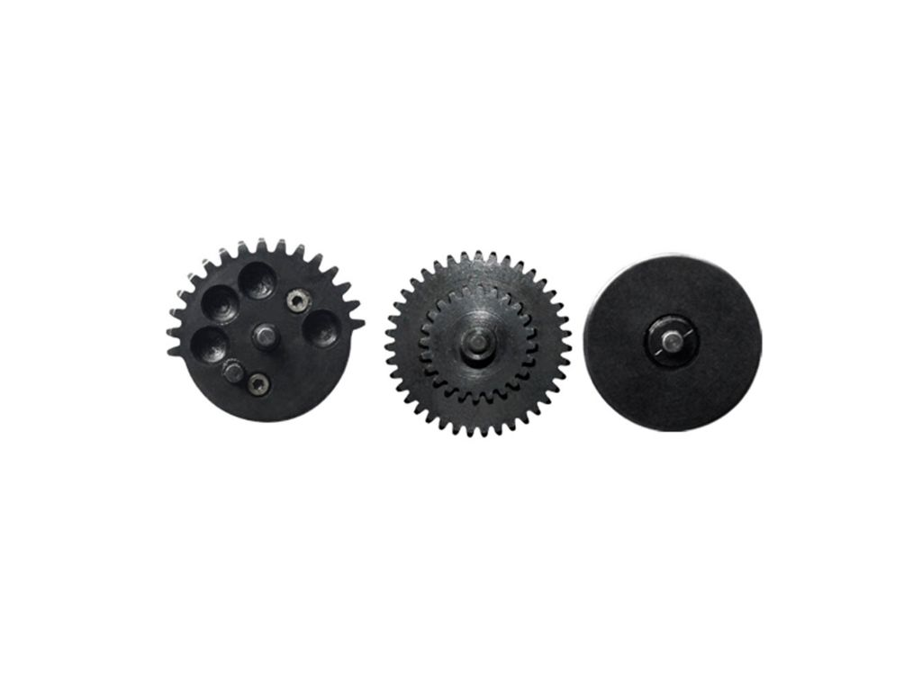 CNC Machined Steel Airsoft Gear Set - Ratio 13:1