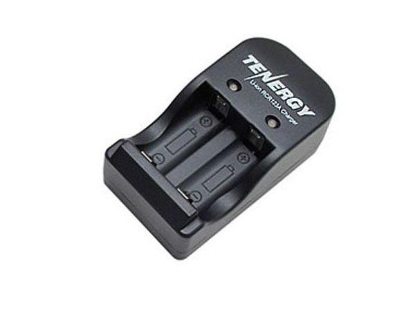 Tenergy Smart Charger for RCR123A 600mAh Li-ion Rechargeable Batteries