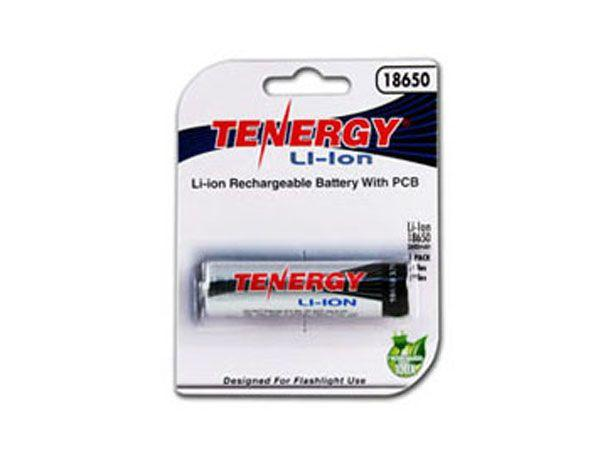Tenergy Li-Ion 18650 Cylindrical 3.7V 2600mAh Button Top Rechargeable Battery