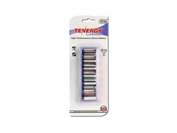 Tenergy 3V 1400mAh Propel Lithium Primary Batteries 12 Pack