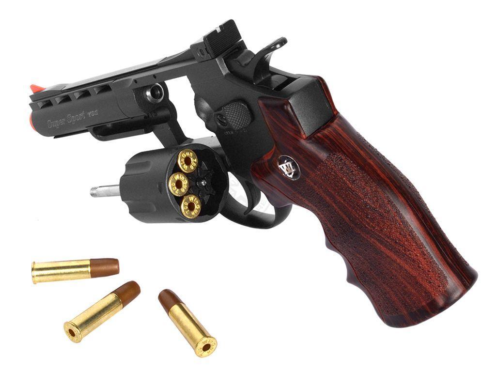 WG M701 Full Metal 4 Inch CO2 Steel BB Revolver