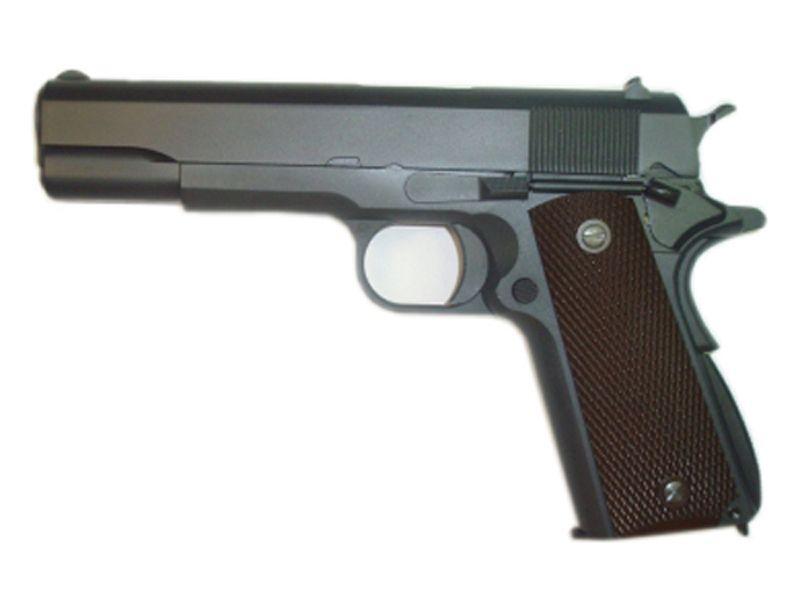 WE M1911 R Version Gas Airsoft Pistol - Black