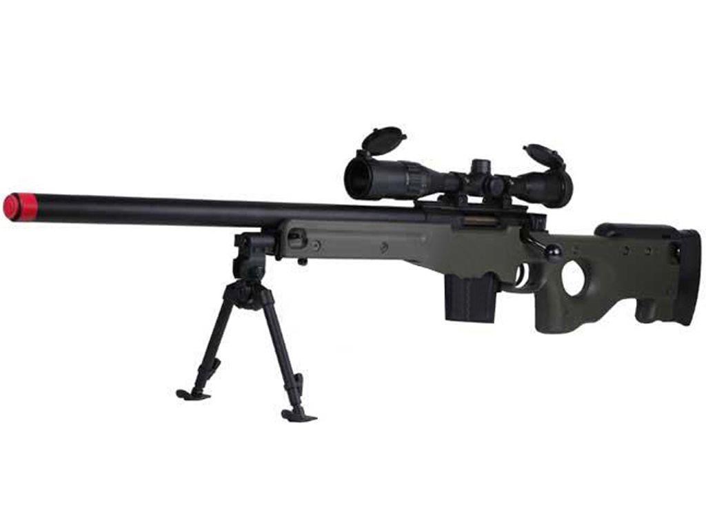 Tokyo Marui L96 AWS Arctic Warfare Series Airsoft Sniper Rifle w/ Bull Barrel