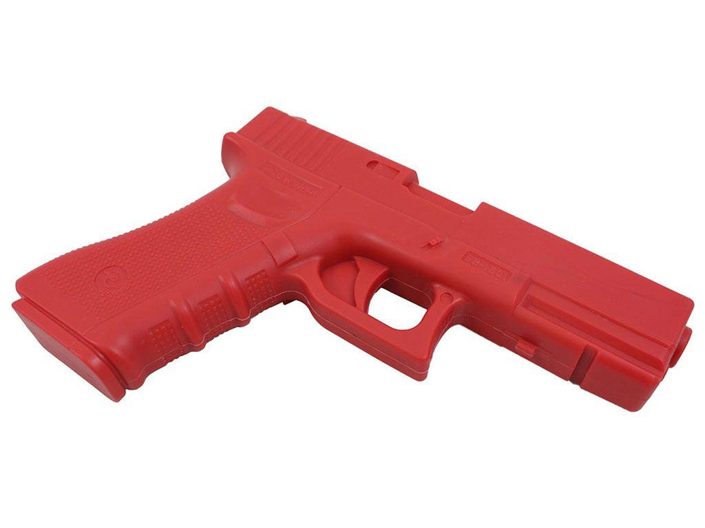 G17 Glock Red Rubber Training Pistol