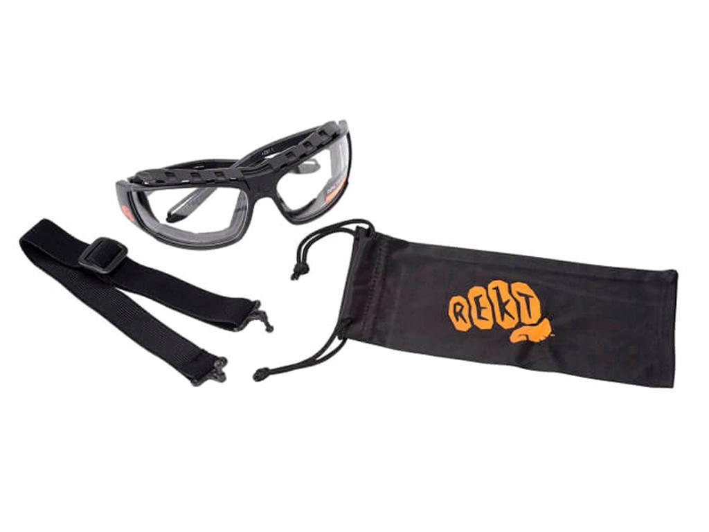 Rekt Shooting Goggles (Black)