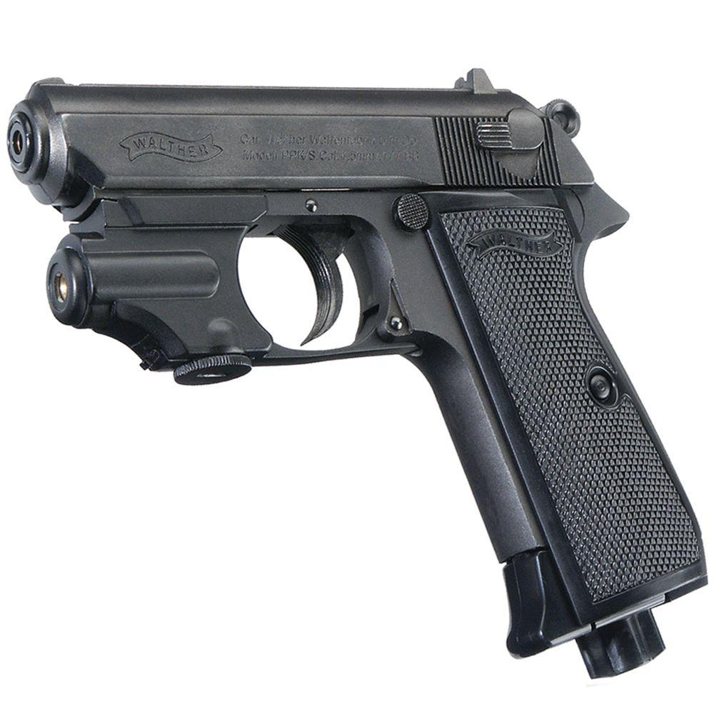 Walther PPK S With Laser Air Pistol