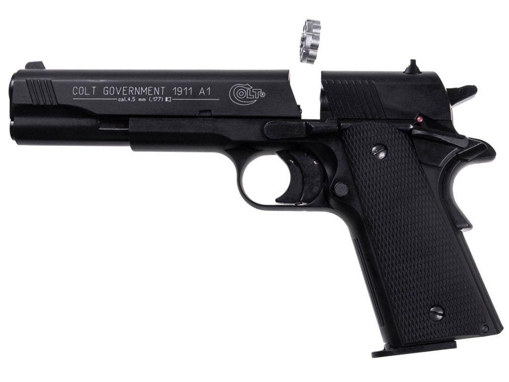 Umarex Colt Government 1911 A1 Co2 Airgun Spare 8 Shot .177 Magazines 3 Pack