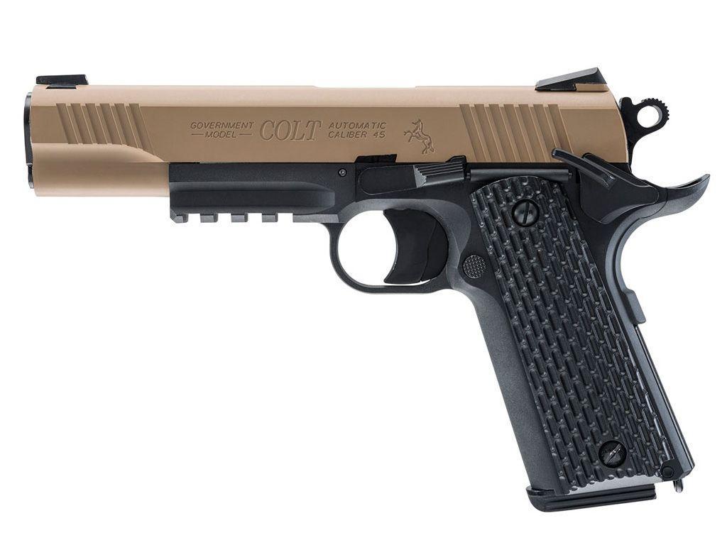 Umarex Colt M45 CQBP CO2 Blowback Steel BB gun
