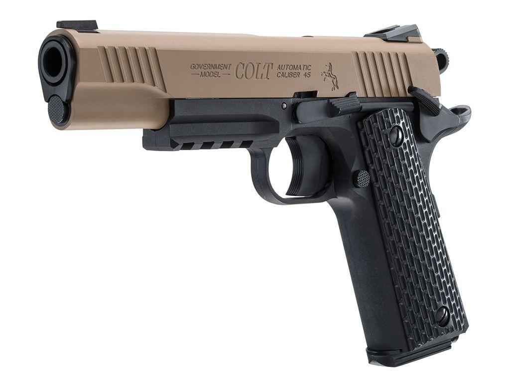 Colt m45 cqbp bb pistol 4 5mm co2 replicaairguns ca