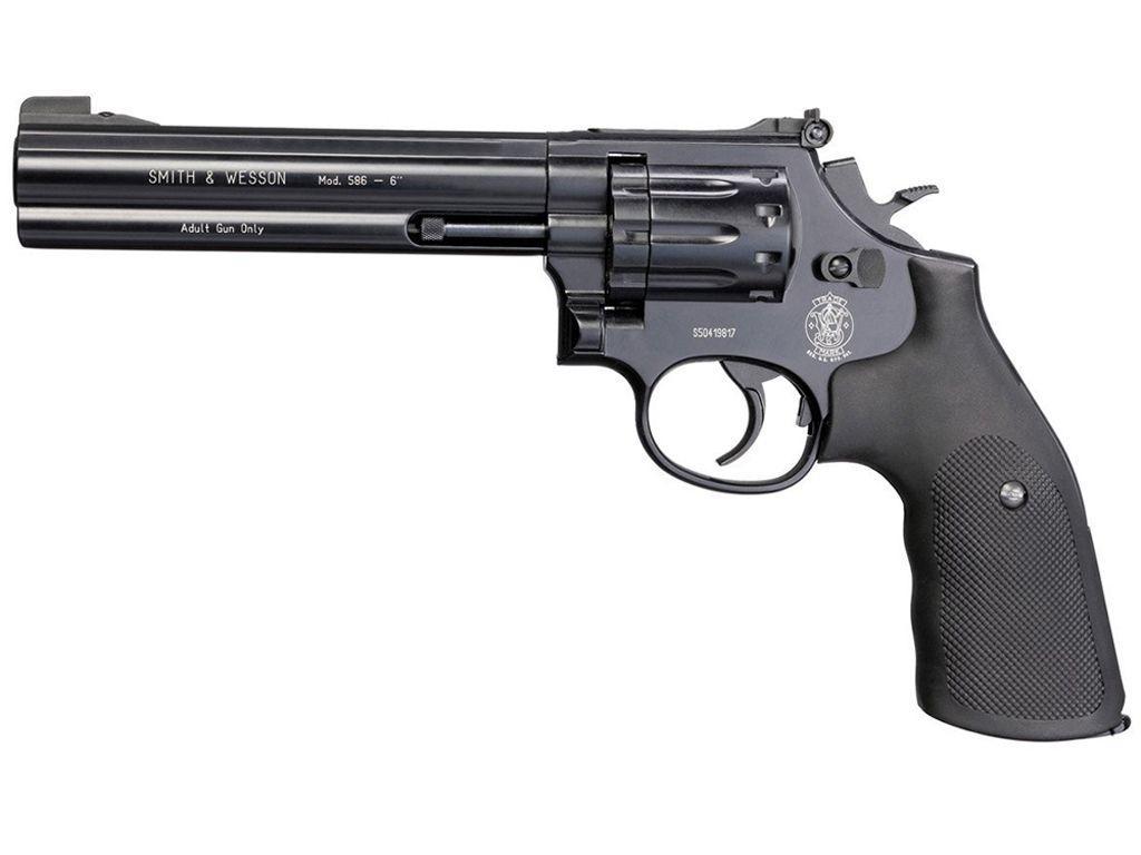 Smith & Wesson 586 6-Inch CO2 Pellet Revolver