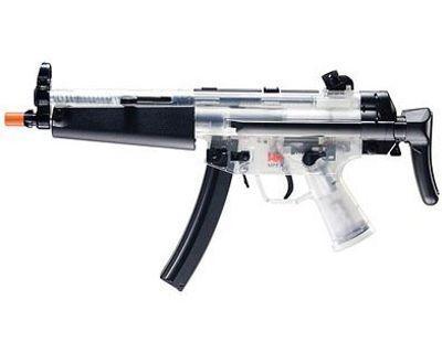 Heckler And Koch Clear AEG MP5 A Retractable Airsoft Gun
