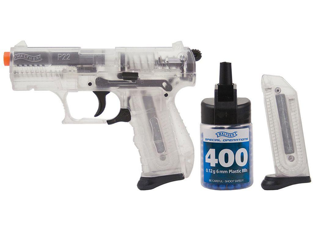 Walther P22 Clear Spring Airsoft Gun