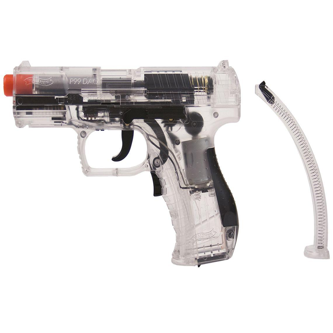 Walther P99 Clear Electric Airsoft Gun