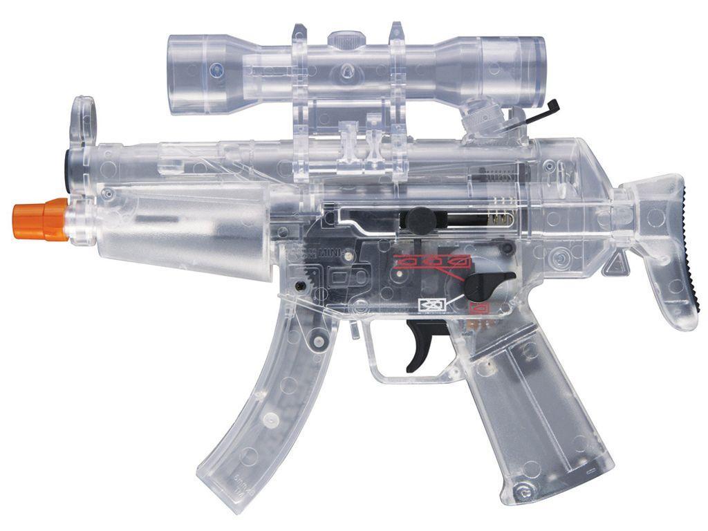 Umarex Combat Zone Mini 5 Clear Airsoft Pistol
