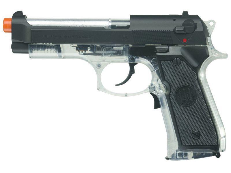 Beretta 92 FS Electric Clear Airgun
