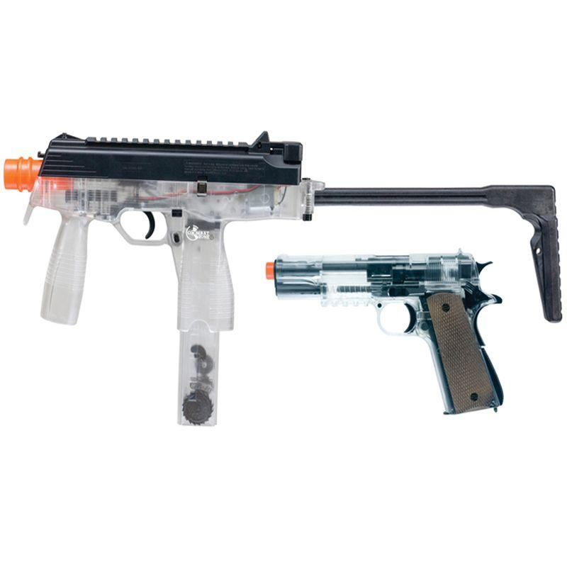 Combat Zone Action Kit Clear Rifle