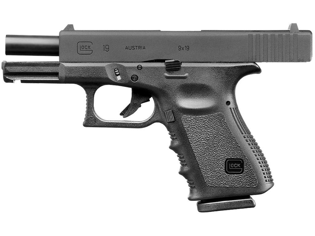 GLOCK 19 GEN3 Gas Blowback Airsoft Pistol Gun